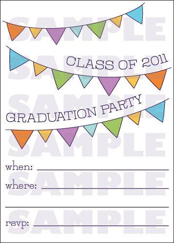 party banner printable graduation postcards free printables online. Black Bedroom Furniture Sets. Home Design Ideas
