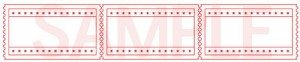 Red Starry Fairground Ticket Templates