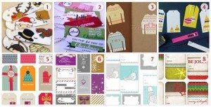 Free Christmas Gift Tag Printables Roundup