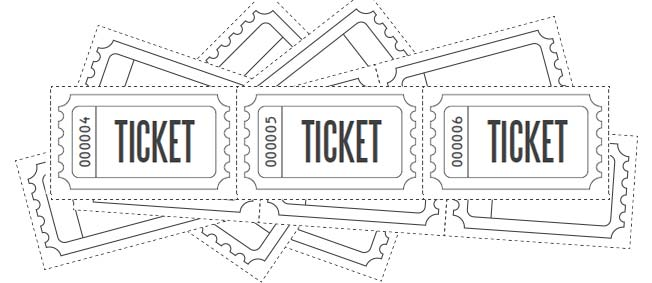 Customize And Personalize Your Own Printable Raffle Ticket Blanks With This  Blank Raffle Ticket Template. These Are Great For Prize Draws Or Even As  Entry ...  Entry Ticket Template