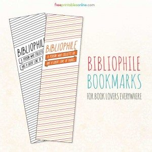 Downloading Bibliophile Bookmarks