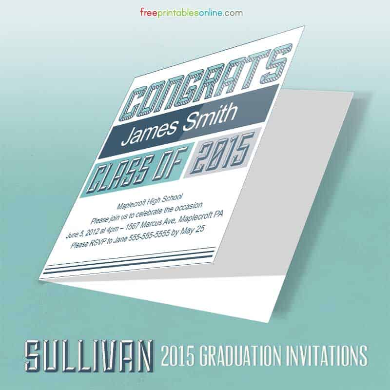 2015 Graduation Invitation