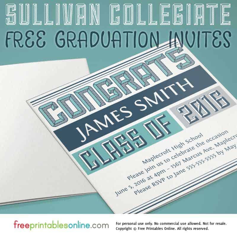 2016 Graduation Invites