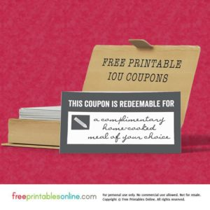 This Coupon is Redeemable for…