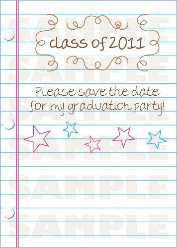 2011 Grad Invitation Postcard