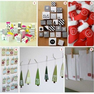 Roundup of Printable Home Made Free Advent Calendars