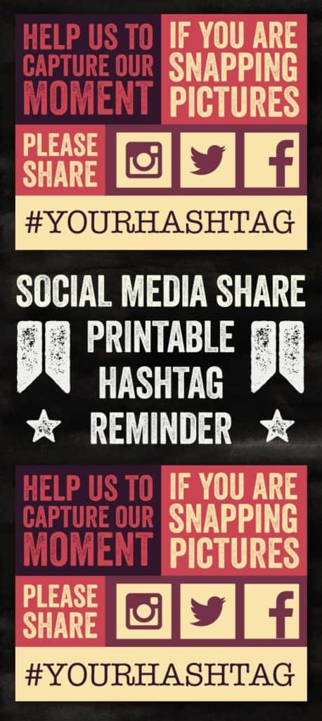 Blocky Hashtag Reminders