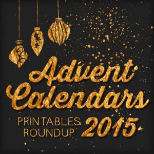 2015 Free Printable Advent Calendars