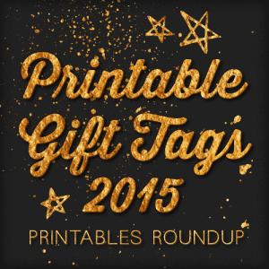 2015 Free printable gift tags