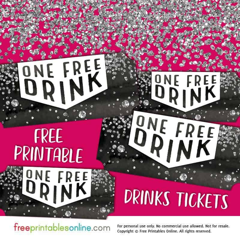 download confetti free drink ticket template
