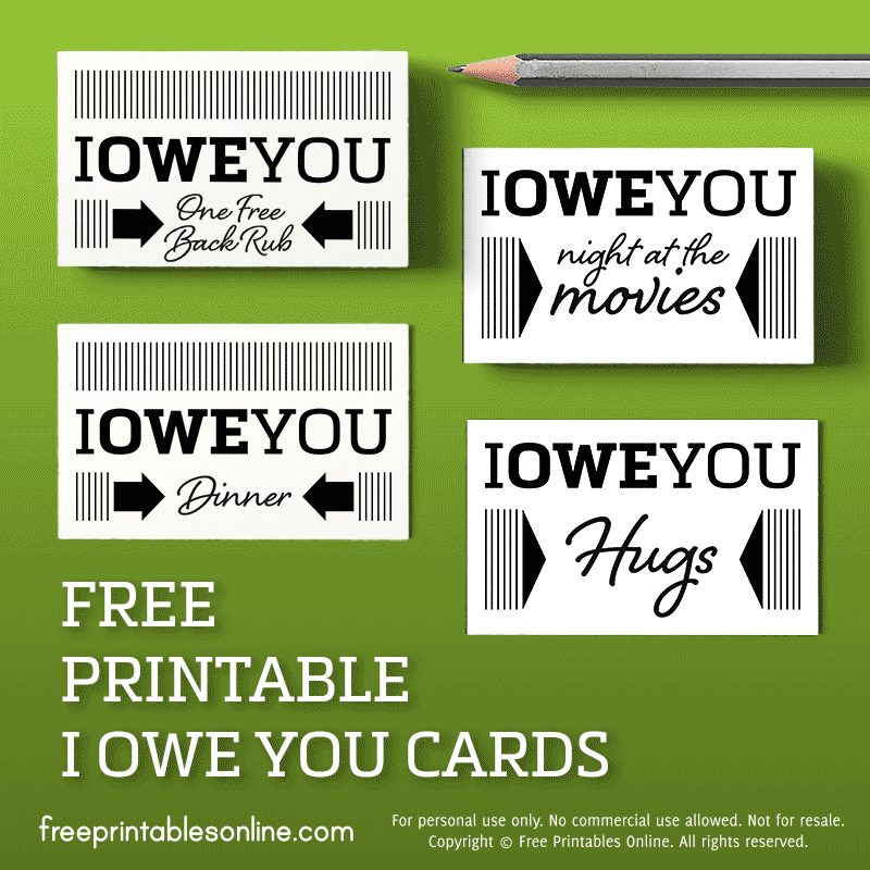 IOU Business Cards