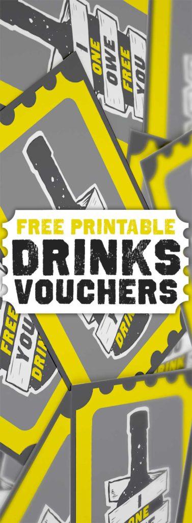 Print Drink Tickets