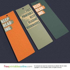 Keep Reading Bookmarks