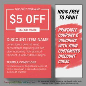 Free Printable Money Off Coupon
