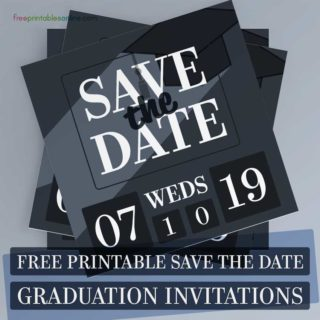 Graduation Save the Date Invitations