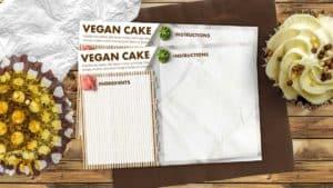 Sushi Mat Recipe Card