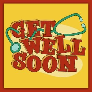 Free printable get well soon card