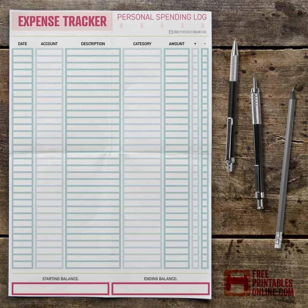 daily expense tracker thumbnail