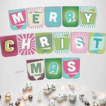 Printable Christmas Banners