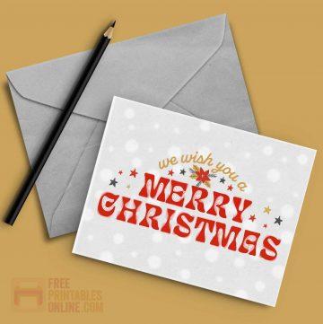 Echo Merry Christmas Card
